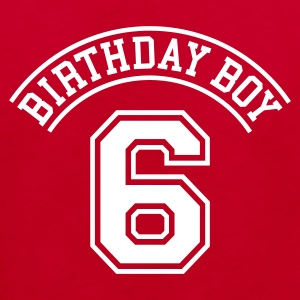 Birthday Boy 6 Kinder T-Shirts - Kinder Bio-T-Shirt