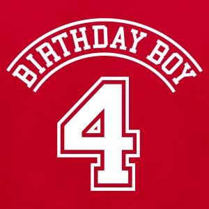 Birthday Boy 4 Kinder T-Shirts - Kinder Bio-T-Shirt