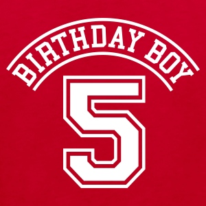 Birthday Boy 5 Kinder T-Shirts - Kinder Bio-T-Shirt