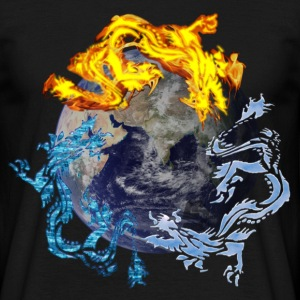 recyclage dragon - T-shirt Homme