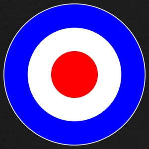 Great Britain France Europe Mod Target DigitalDirekt T-Shirts - Männer Kontrast-T-Shirt
