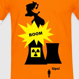 Nuclear Energy - Atomenergie T-Shirts - Men's Ringer Shirt