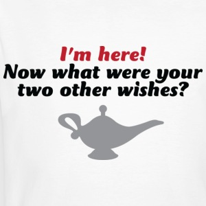 Your Two Other Wishes 2 (dd)++ T-shirt - T-shirt ecologica da uomo