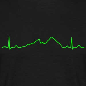 Watzmann ECG Mountain line T-Shirts - Men's T-Shirt