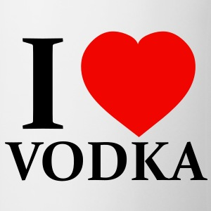 I Love Vodka Botellas y tazas - Taza