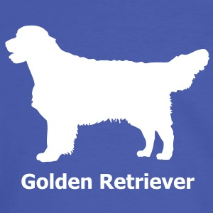 Golden Retriever Labrador T-Shirts - Männer Kontrast-T-Shirt