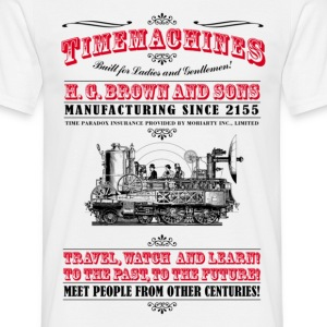 Time Machine - Männer T-Shirt