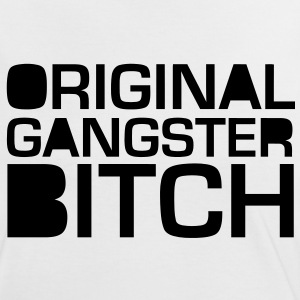 Gangster Bitch T-Shirts - Frauen Kontrast-T-Shirt