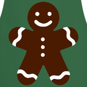 Green Gingerbread  Aprons - Cooking Apron