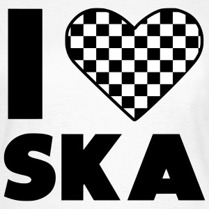 love ska / ska I heart Music T-Shirts - Women's T-Shirt