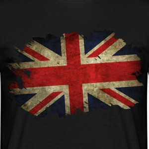 Great Britain Flagge Used Look - Männer T-Shirt