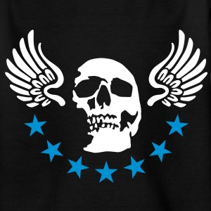 wingskull_092011_a_2c Shirts - Teenager T-shirt