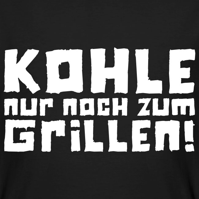 Öko-Grillmeister Kohle