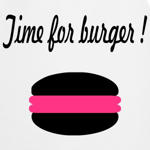 Time for burger - Kochschürze