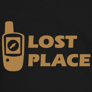 Geocaching GPS Lost Place Cache T-Shirts - Männer Kontrast-T-Shirt