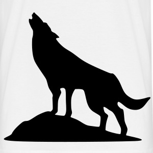 loup, chien - T-shirt Homme