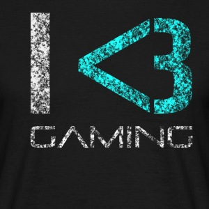 I LOVE GAMING 1.0 SHIRT - Men's T-Shirt