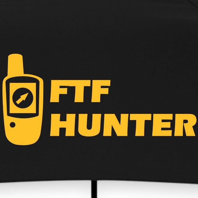 Geocaching GPS FTF Hunter First Trade Found - Flexdruck