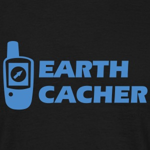 Geocaching GPS Earthcacher T-Shirts - Männer T-Shirt