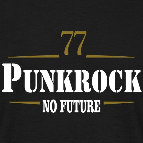 Punkrock 77 no Future Streetpunk zweifarbig
