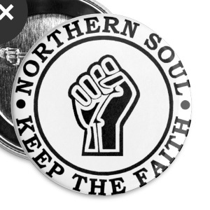 Northern Soul Keep the faith button badge - Buttons medium 32 mm