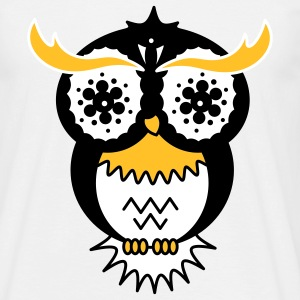 A psychedelic owl T-Shirts - Men's T-Shirt