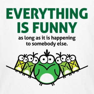 Everything Is Funny 2 (dd)++ T-shirt - T-shirt ecologica da uomo