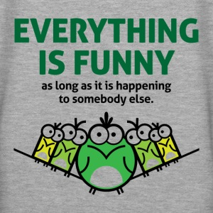 Everything Is Funny 2 (dd)++ Pullover - Frauen Premium Hoodie