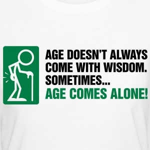 Age With Wisdom 3 (2c)++ T-shirts - Ekologisk T-shirt dam