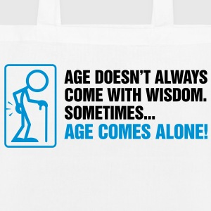 Age With Wisdom 2 (2c)++ Bags  - EarthPositive Tote Bag