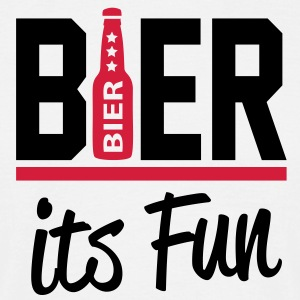 bier_its_fun2 T-Shirts - Männer T-Shirt