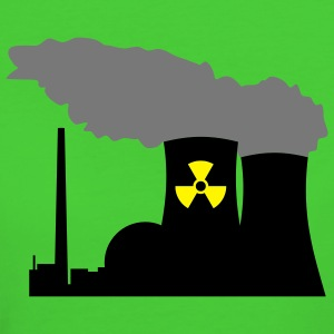 Nuclear Power (Vector) - Women's Organic T-shirt