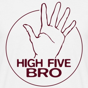High Five Bro! - Männer T-Shirt