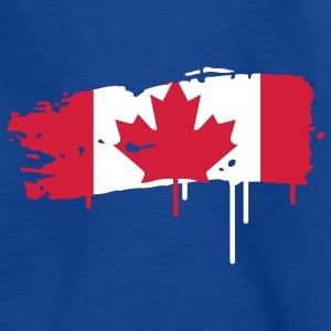 painted flag of Canada  Kids' Shirts - Teenage T-shirt