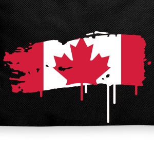 painted flag of Canada  Bags  - Backpack