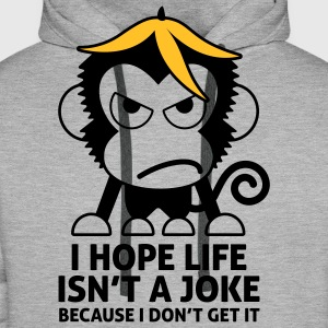 Life Isnt A Joke 4 (2c)++ Sweat-shirts - Sweat-shirt à capuche Premium pour hommes