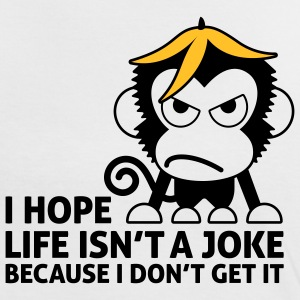 Life Isnt A Joke 2 (2c)++ T-shirts - Vrouwen contrastshirt