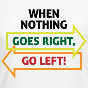 Go Left 2 (dd)++ T-Shirts - Frauen Bio-T-Shirt