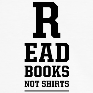 read books not shirts T-Shirts - Men's Ringer Shirt