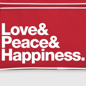 love peace happiness Tassen - Retro-tas
