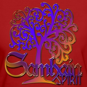 Samhain Spirit Tree - colored | Frauenshirt organic - Frauen Bio-T-Shirt