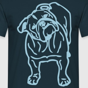 Bulldog Design T Shirt  - Men's T-Shirt