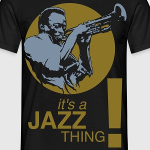 Jazz thing flex - Men's T-Shirt