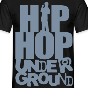 Hip hop underground silver - Men's T-Shirt