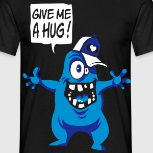 Monster want a hug - Mannen T-shirt