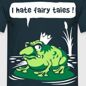 I hate fairy tales - Mannen T-shirt