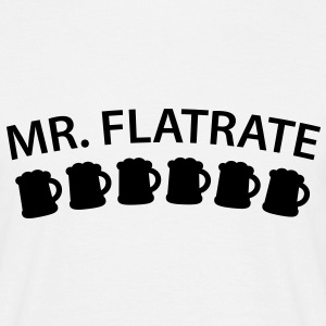 Mister Flatrate | Beer | Bier T-Shirts - Herre-T-shirt