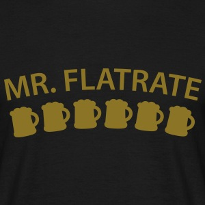 Mister Flatrate | Beer | Bier T-Shirts - T-shirt Homme