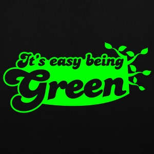It's easy being green Bags  - Tote Bag
