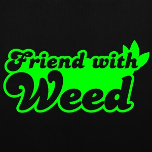 FRIEND with weed Bags  - Tote Bag